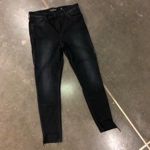 Lucky Brand Raw Hem Ankle Size 10/30